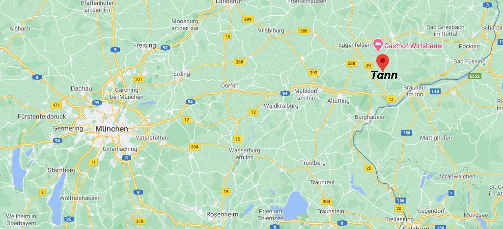 In welchem Bundesland liegt Tann