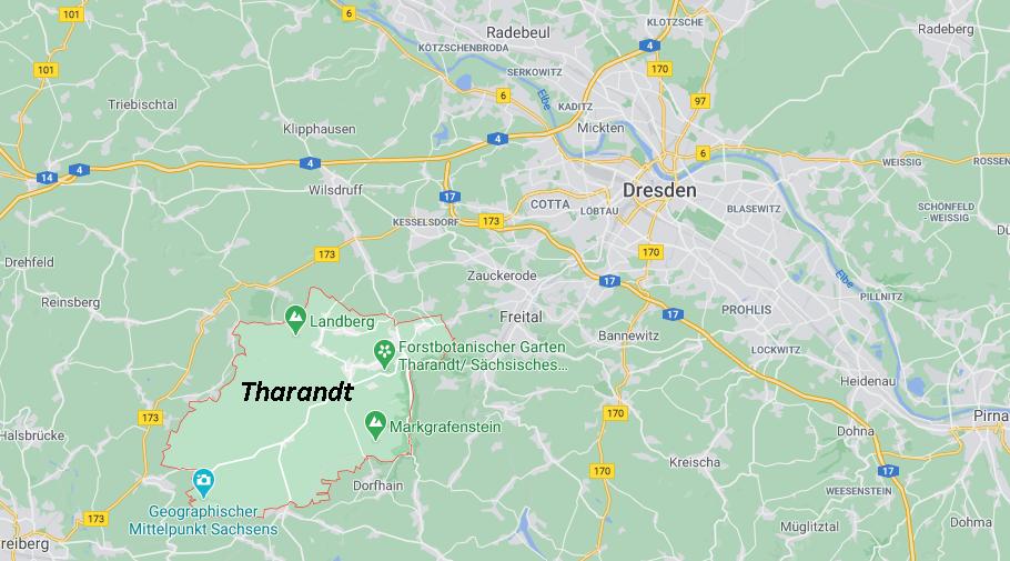 In welchem Bundesland liegt Tharandt
