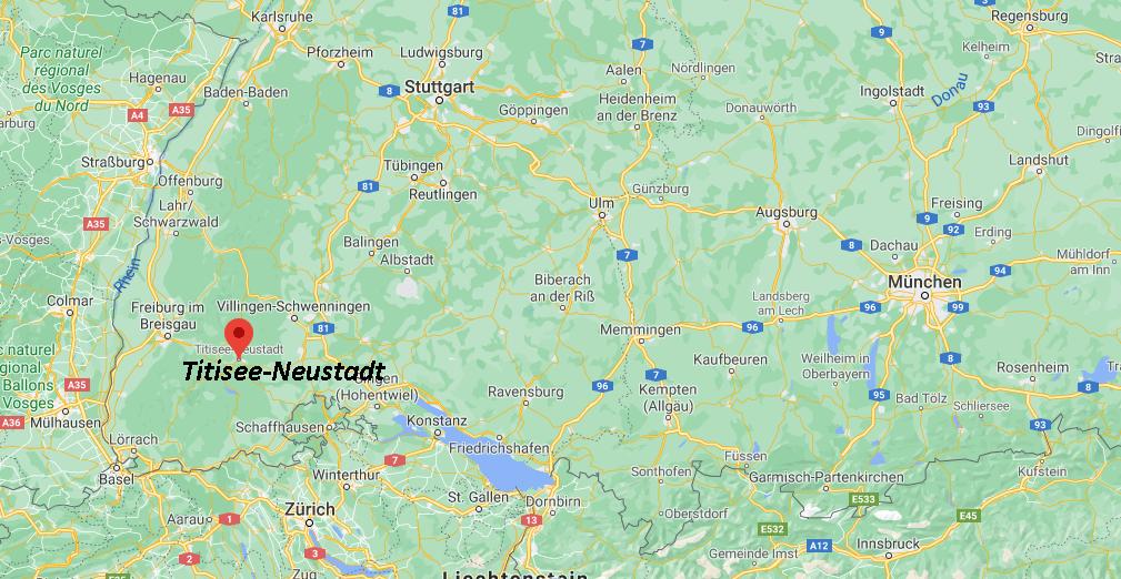 In welchem Bundesland liegt Titisee-Neustadt