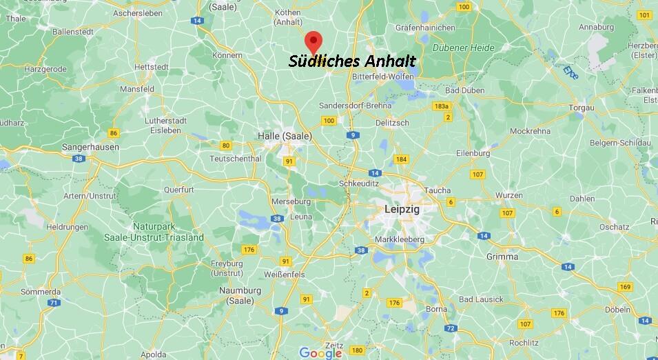 In welchem Bundesland liegt Südliches Anhalt