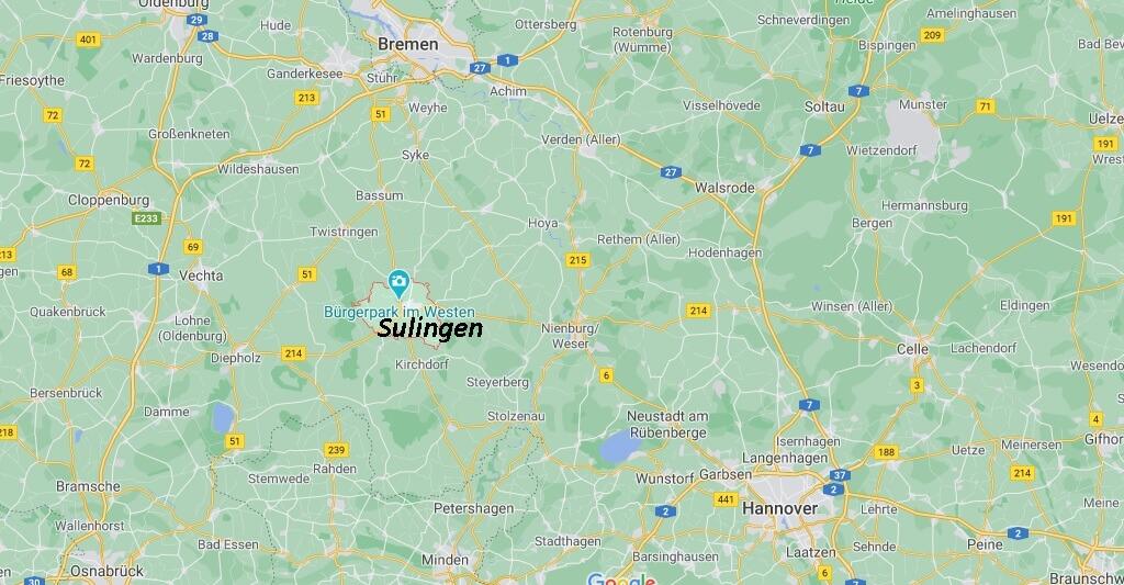 In welchem Landkreis liegt Sulingen