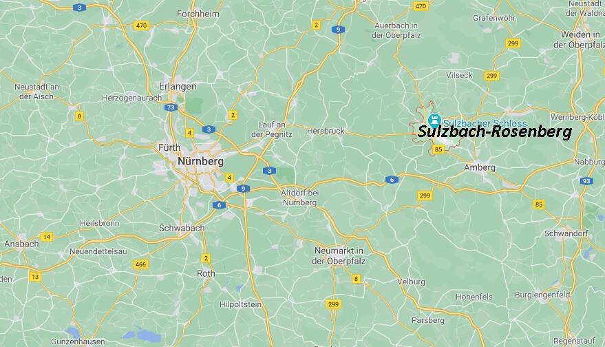In welchem Landkreis liegt Sulzbach-Rosenberg