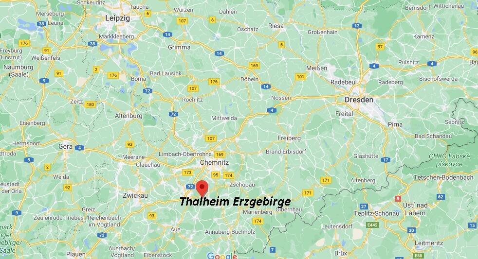 Stadt Thalheim Erzgebirge