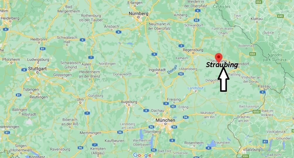 Wo ist Straubing (Postleitzahl 94315)