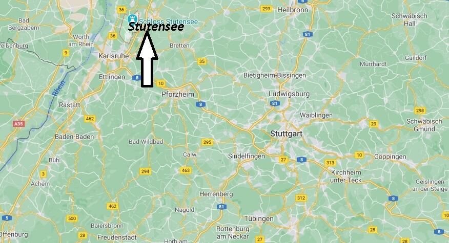 Wo ist Stutensee (Postleitzahl 76297)