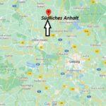 Wo ist Südliches Anhalt (Postleitzahl 06369)