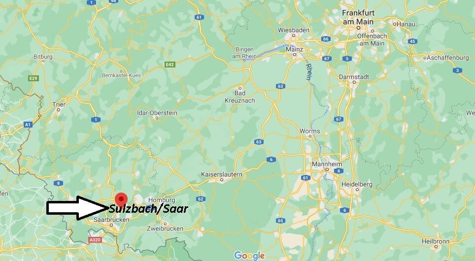 In welchem Landkreis liegt Sulzbach Saar