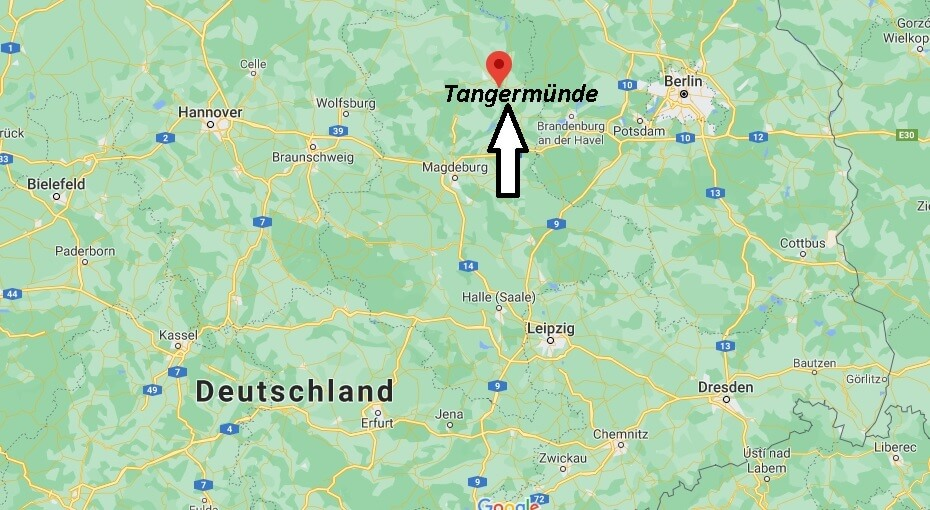 Wo ist Tangermünde (Postleitzahl 39590)