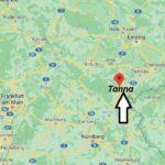 Wo ist Tanna (Postleitzahl 07922)