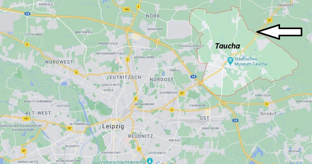 Wo ist Taucha (Postleitzahl 04425)