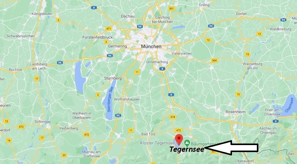 In welchem Bundesland liegt Tegernsee