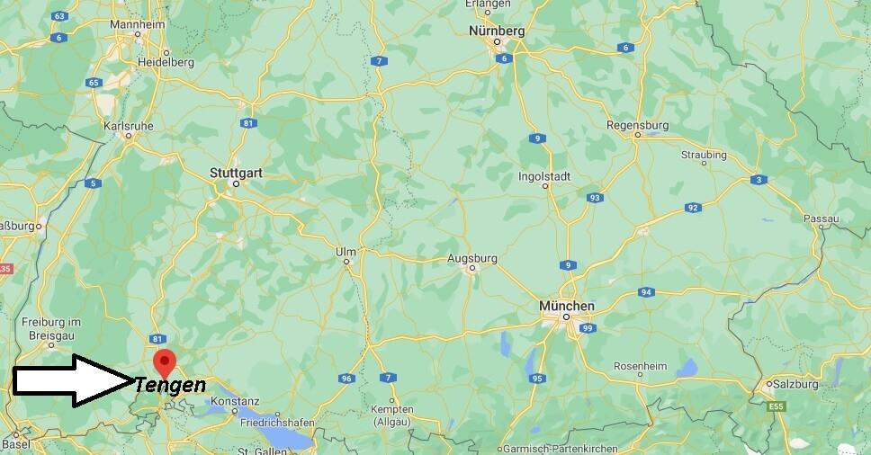 Wo ist Tengen (Postleitzahl 78250)