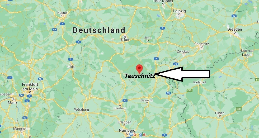 Wo ist Teuschnitz (Postleitzahl 96358)