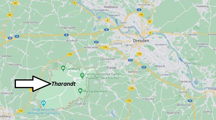 Wo ist Tharandt (Postleitzahl 01737)