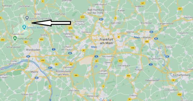 Wo liegt Taunusstein
