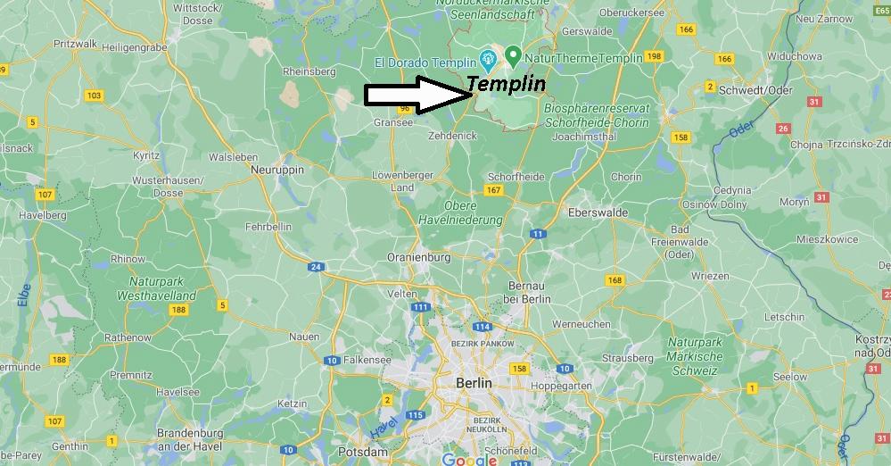 In welchem Bundesland liegt Templin