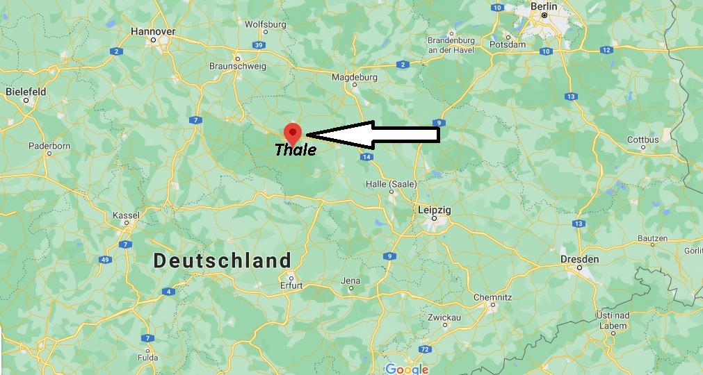 In welchem Bundesland liegt Thale