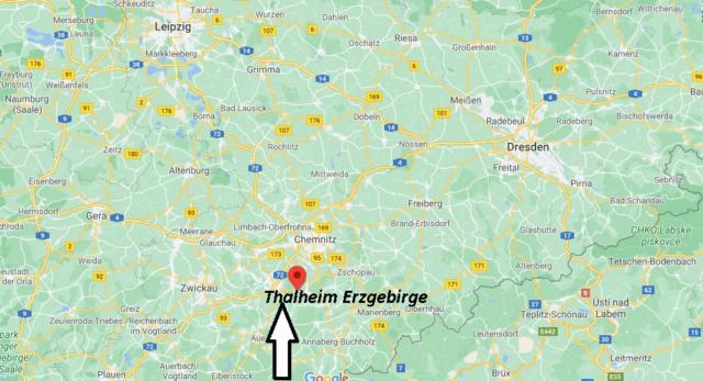 Wo liegt Thalheim Erzgebirge