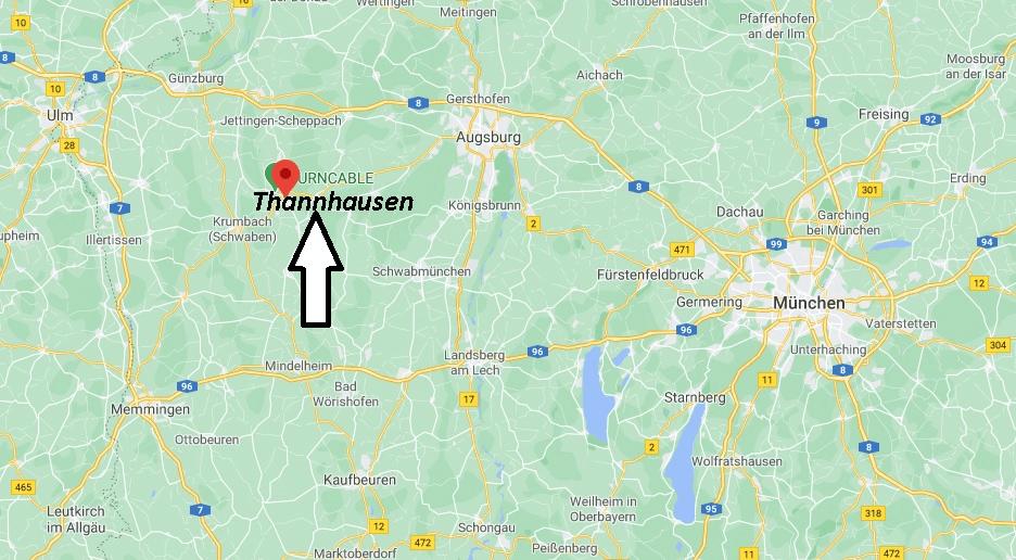 Wo liegt Thannhausen