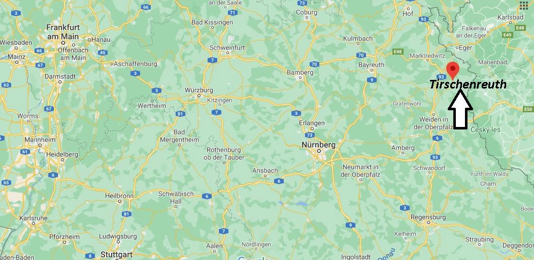 Wo liegt Tirschenreuth