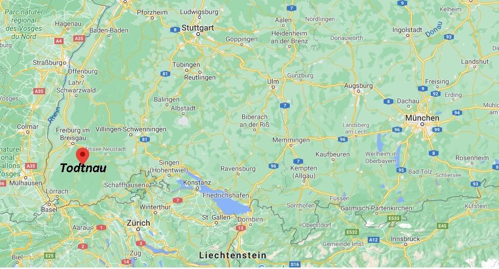 In welchem Bundesland liegt Todtnau