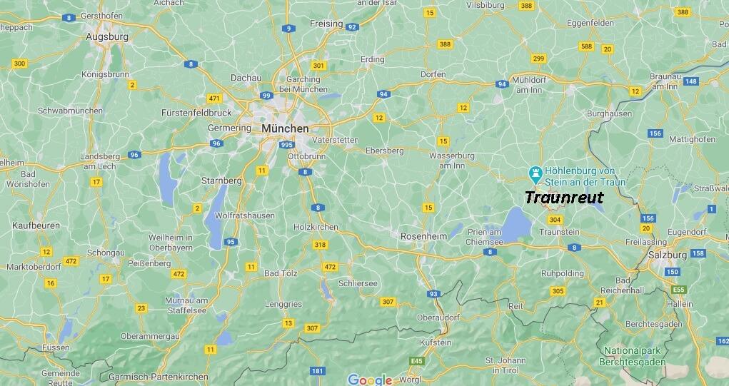 In welchem Bundesland liegt Traunreut