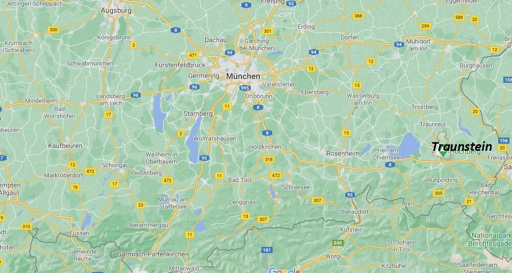 In welchem Bundesland liegt Traunstein