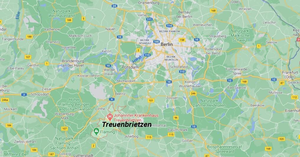 In welchem Bundesland liegt Treuenbrietzen
