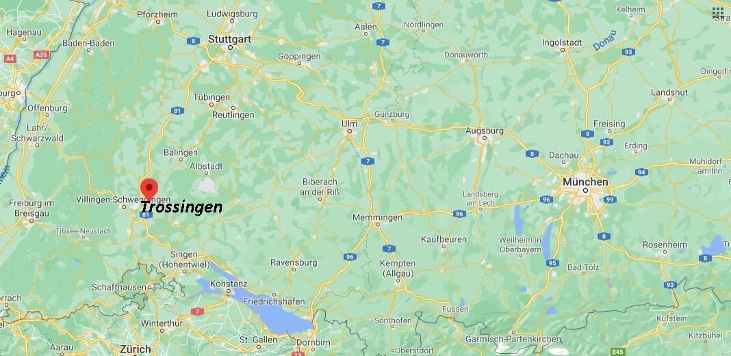 In welchem Bundesland liegt Trossingen