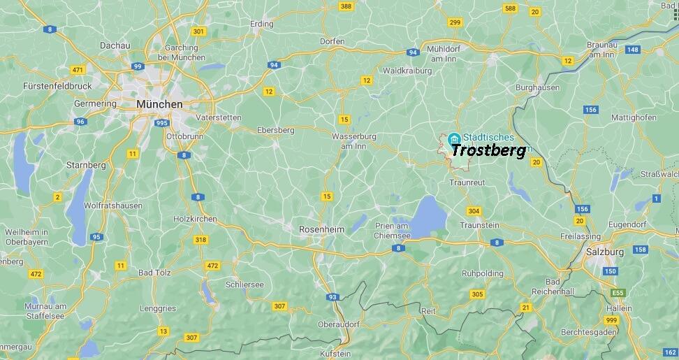 In welchem Bundesland liegt Trostberg