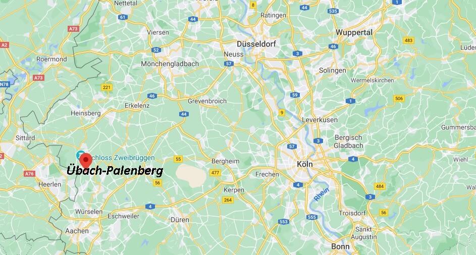 In welchem Bundesland liegt Übach-Palenberg