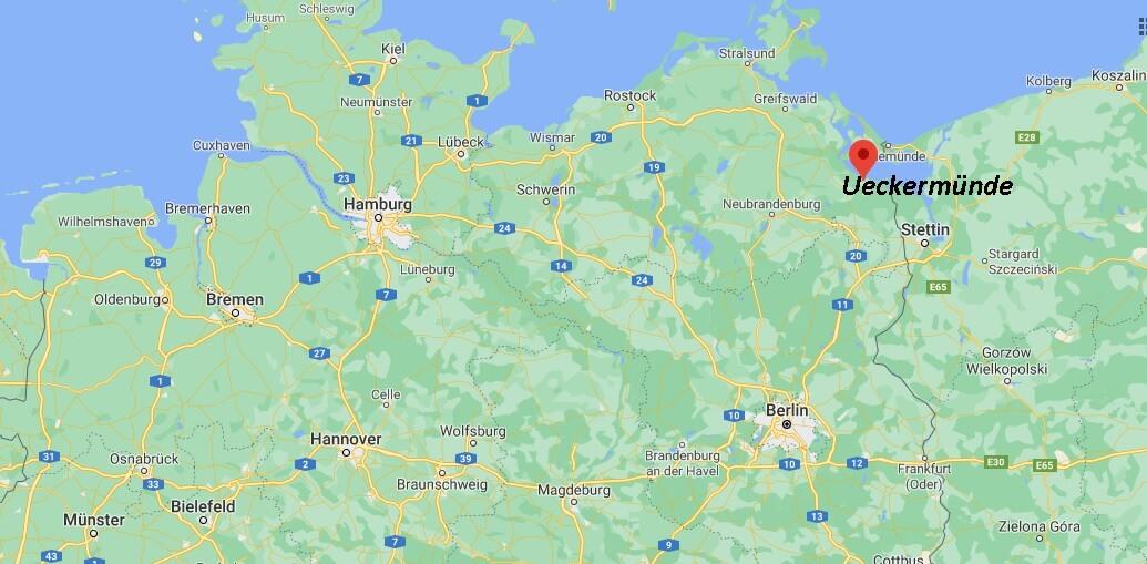 In welchem Bundesland liegt Ueckermünde