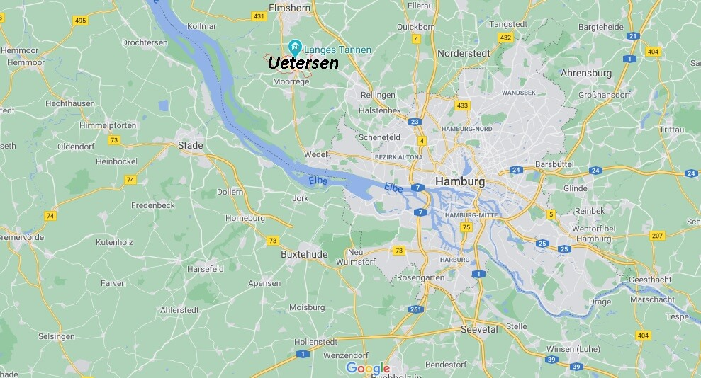 In welchem Bundesland liegt Uetersen