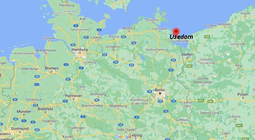 In welchem Bundesland liegt Usedom