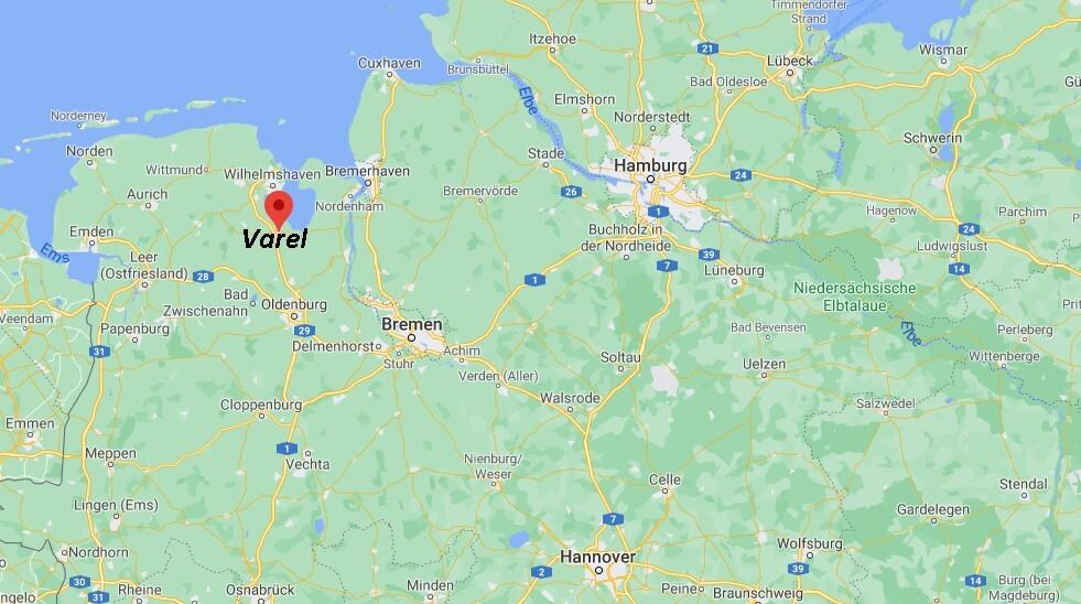 In welchem Bundesland liegt Varel