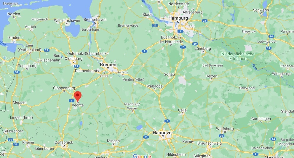 In welchem Bundesland liegt Vechta