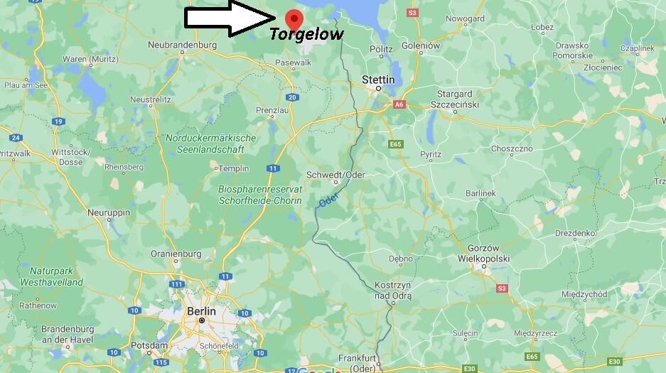 Wo ist Torgelow (Postleitzahl 17358)