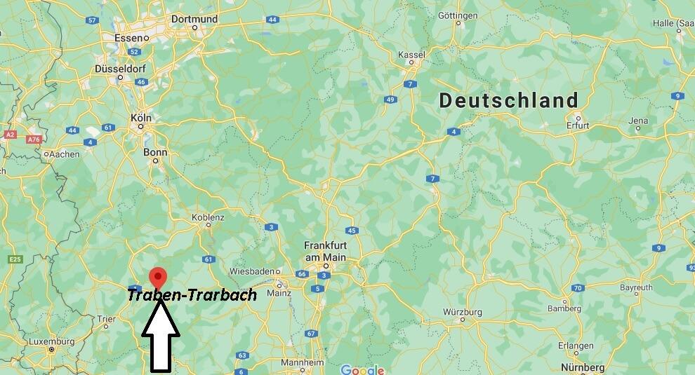 Wo ist Traben-Trarbach (Postleitzahl 56841)