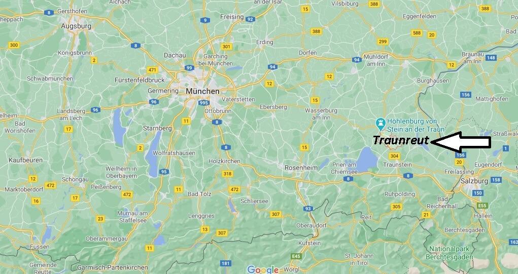 Wo ist Traunreut (Postleitzahl 83301)