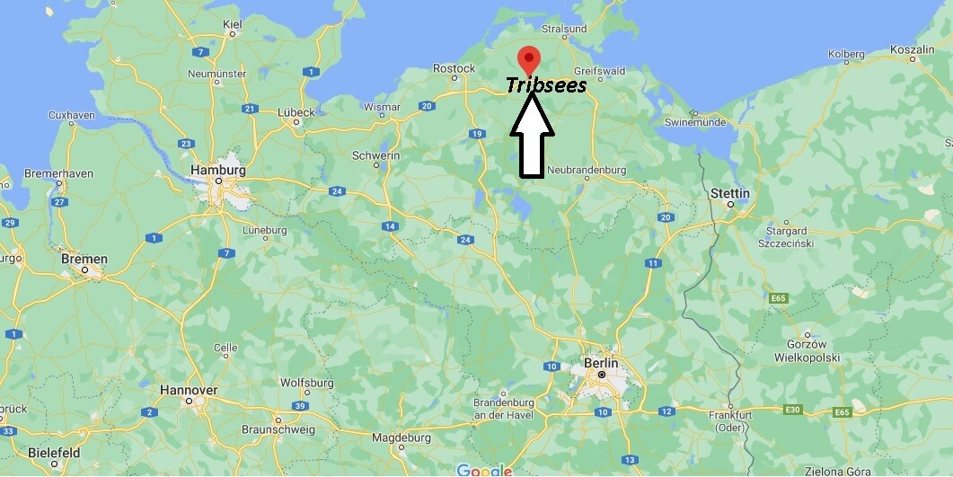 Wo ist Tribsees (Postleitzahl 18465)