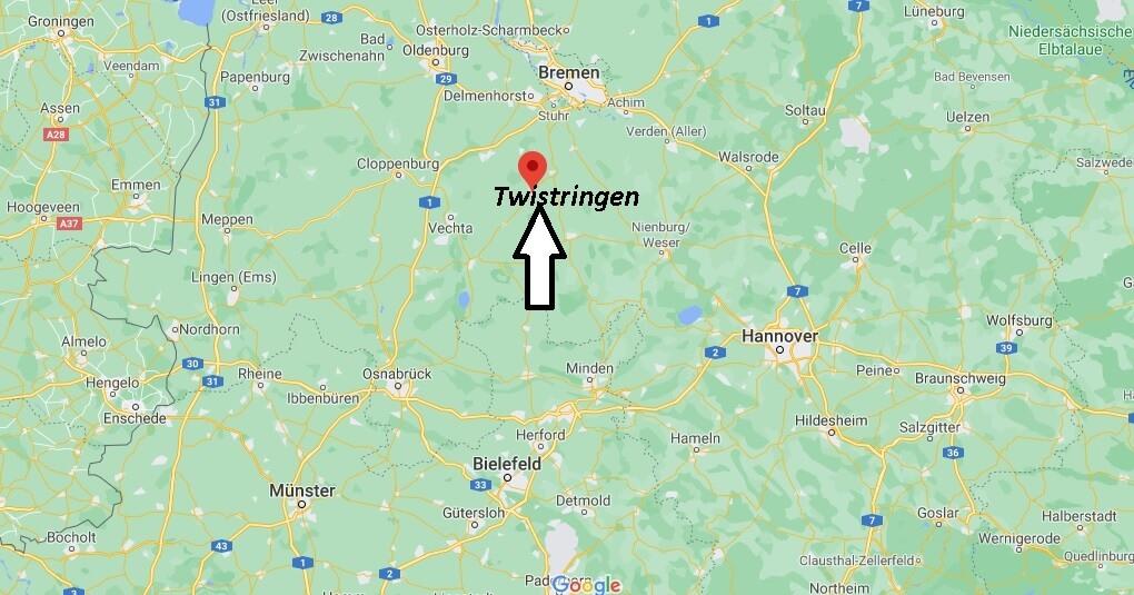 Wo ist Twistringen (Postleitzahl 27239)