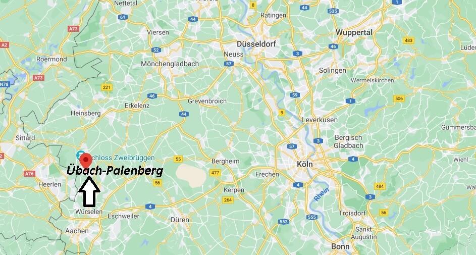 Wo ist Übach-Palenberg (Postleitzahl 52531)