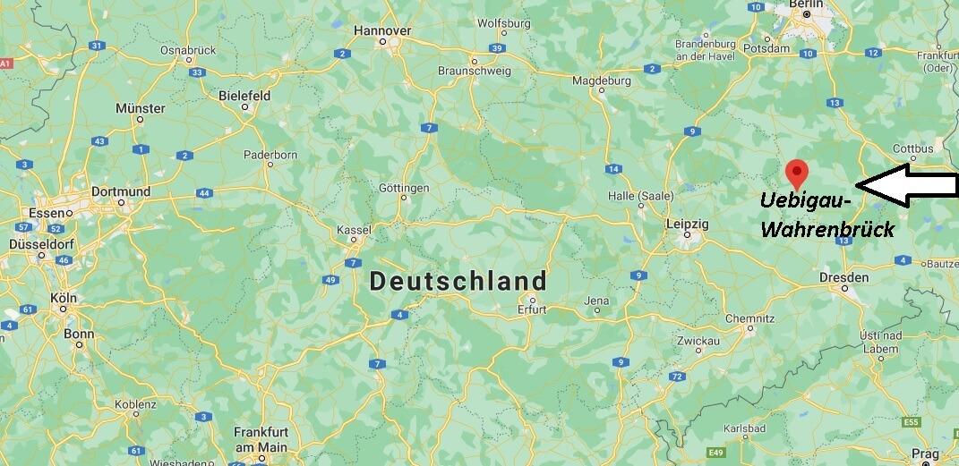 Wo ist Uebigau-Wahrenbrück (Postleitzahl 04895)