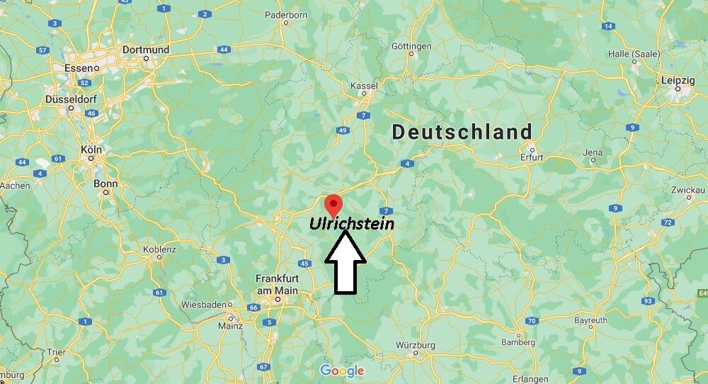 Wo ist Ulrichstein (Postleitzahl 35327)