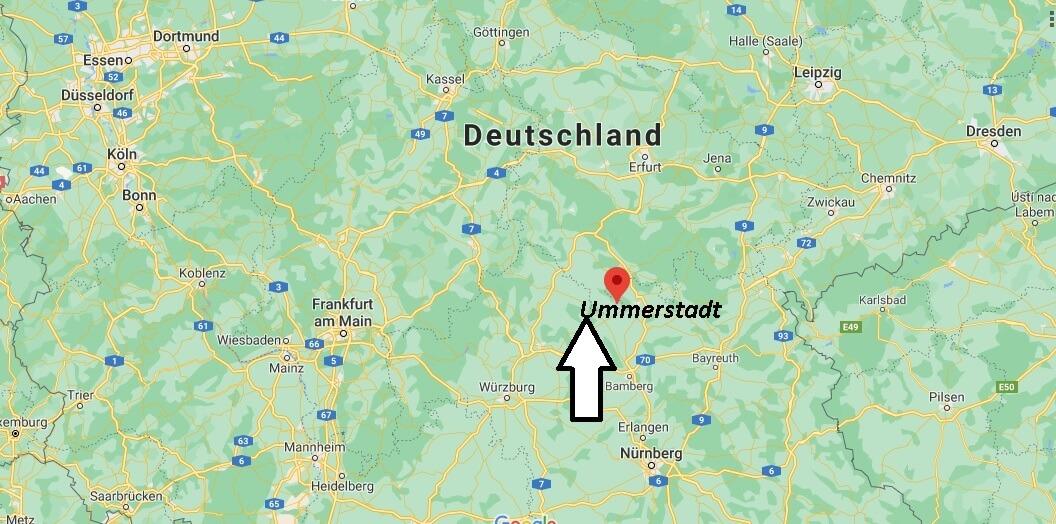 Wo ist Ummerstadt (Postleitzahl 98663)