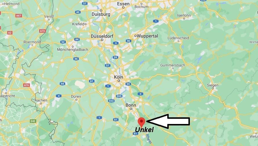 Wo ist Unkel (Postleitzahl 53572)