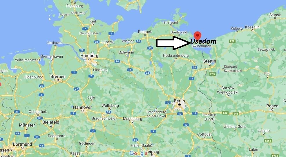 Wo ist Usedom (Postleitzahl 17406)