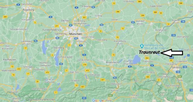 Wo liegt Traunreut
