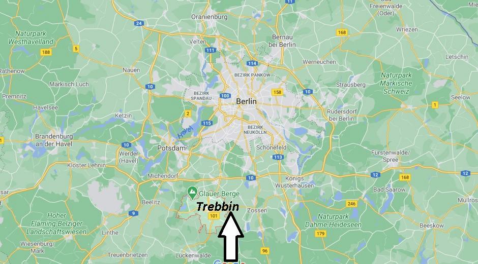 Wo liegt Trebbin
