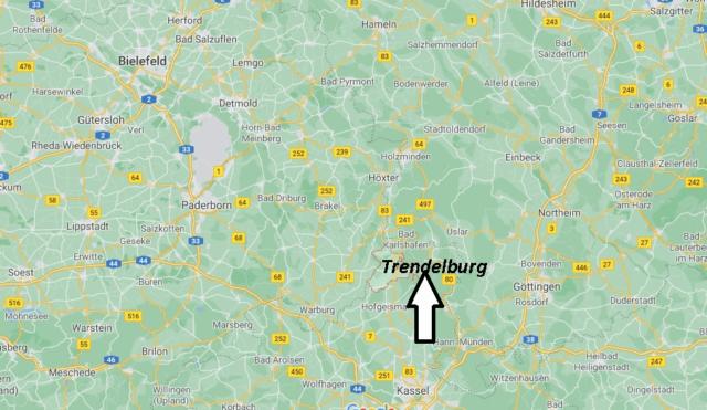 Wo liegt Trendelburg